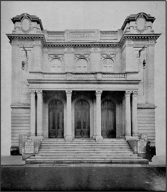 Teatrul Odeon - 1911